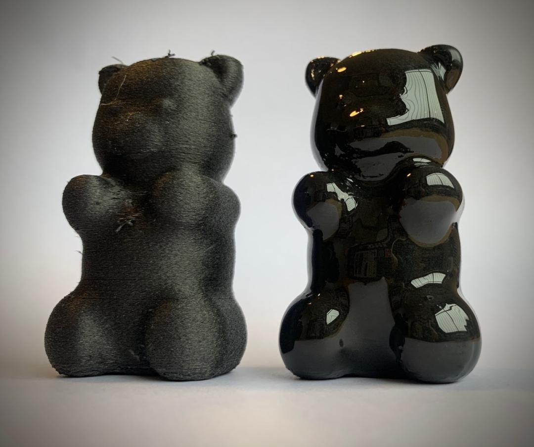 Ouson noir lissage - 2 pièces