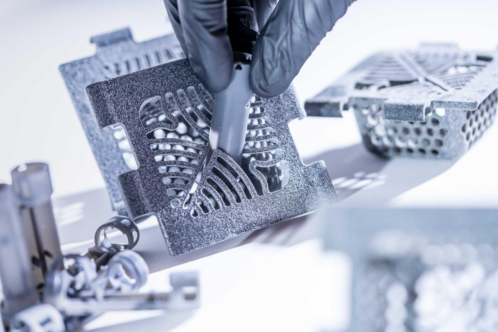 Métallisation chimique, CEM pièces impression 3D