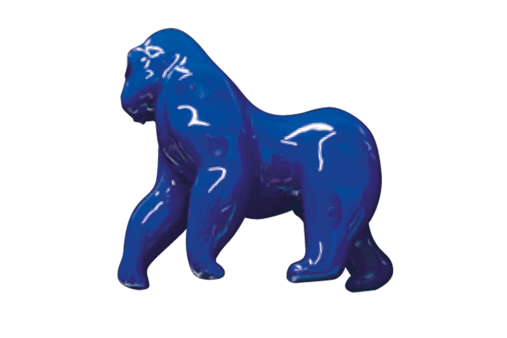 gorille-bleu métallisation